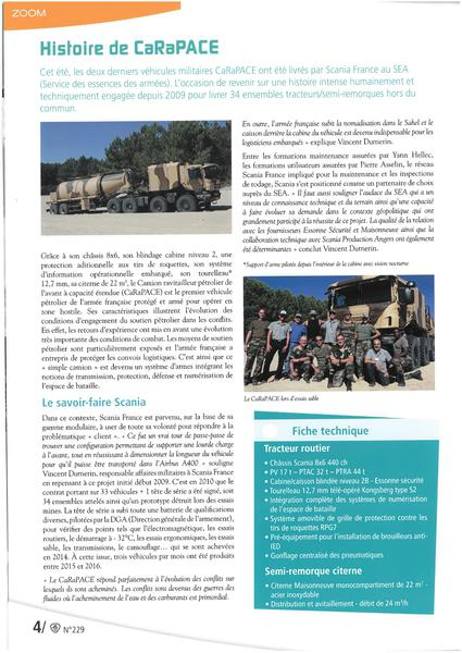 CARAPACE / Article Scania Nov 2016 page 2